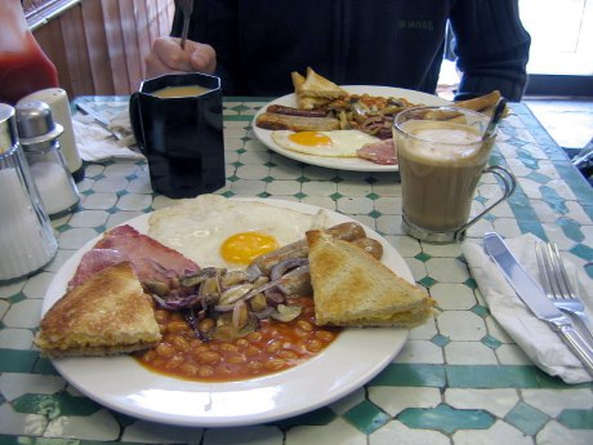 Mens Breakfast at Strawberry Farm